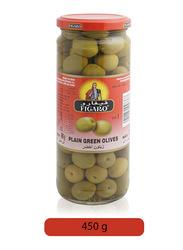 Figaro Plain Green Olives Pickles, 450g