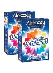 Alokozay Premium Powder Detergent, 2 Box x 3 kg