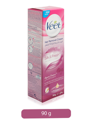 Veet Silk & Fresh Supreme Essence Skin Hair Removal Cream, 90gm