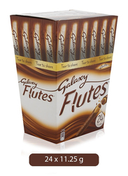 Galaxy Flutes Chocolate Single Share, 24 x 11.25g