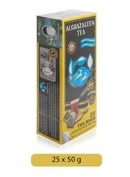 Alghazaleen Super Ceylon Earl Grey Tea, 25 Tea Bags x 2g