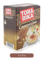 Tora Bika Cappuccino Instant Coffee, 5 x 25g