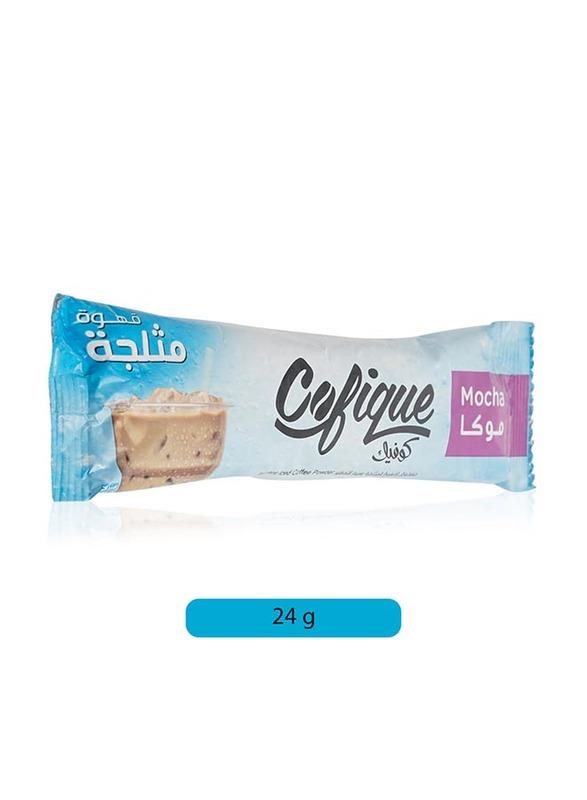 Cofique Mocha Instant Iced Coffee Powder, 24g