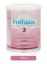 Primalac Premium 2 Follow-On Iron Fortified Formula Milk, 6 Months-1 Year, 400g