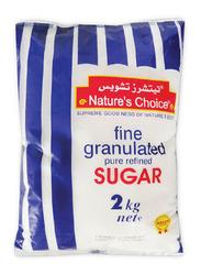 Natures Choice Fine Granulated Sugar, 2 Kg
