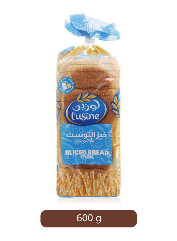 Lusine Milk Sliced Bread, 600g