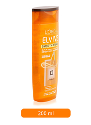L'Oreal Paris Elvive Smooth Intense Shampoo for All Hair Types, 200ml