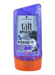 Taft Looks Titan Power Gel Ultimate Hold for All Hair Types, 150ml