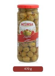 Acorsa Stuffedgreen Olives, 470g