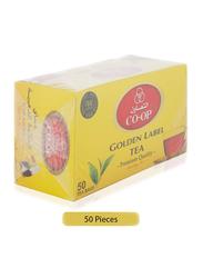 CO-OP Golden Label Black Tea, 50 Tea Bags x 2g
