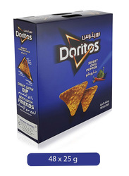 Doritos Sweet Chili Pepper Tortilla Chips, 48 x 25g
