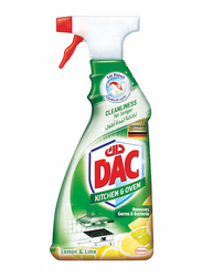 DAC Lemon & Lime Kitchen & Oven Cleaner, 1 Piece, 500ml