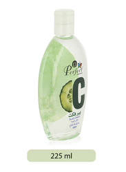Perfect Cosmetics Cucumber Makeup Remover Facial Cleanser, 225ml, White