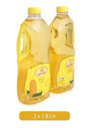 CO-OP Corn Oil, 2 Bottles x 1.8 Liter