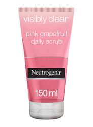Neutrogena Visibly Clear Pink Grapefruit Facial Scrub, 150ml