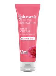 Johnson's Fresh Hydration Night Cream for Normal Skin, 50ml
