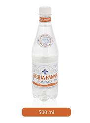 Acqua Panna Toscana Natural Mineral Water Bottle, 500ml