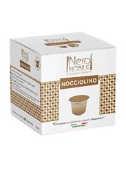 Nero Nobile Nocciolino Nespresso Compatible Coffee Capsule, 10 Capsules