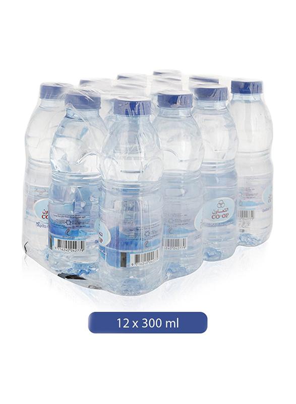 CO-OP Drinking Water, 12 Bottles x 300ml