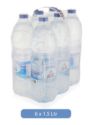 CO-OP Drinking Water, 6 Bottles x 1.5 Liter