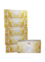 Euro Care Facial Tissue White, 6 Boxes x 200 Sheets x 2ply