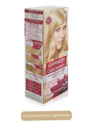 Garnier Color Intensity Intense Permanent Color Cream, 9.0 Luminous Very Light Blonde, 100ml
