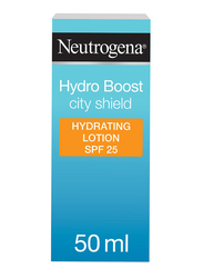 Neutrogena Hydro Boost City Shield Hydrating Body Lotion SPF 25, 50ml