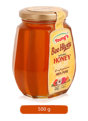 Young's Bee Hives 100% Pure Natural Honey, 500g
