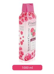Fruiser Rose Milk Shower Cream, 1000ml