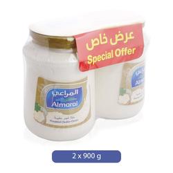 Almarai Processed Cheddar Cheese, 2 x 900 g
