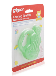 Pigeon Guitar Shape Cooling Baby Teether, Green