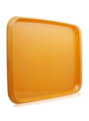 Union 45x32 cm Crystal Rectangular Tray, Orange