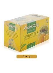 Alokozay Lemon Green Tea, 25 Tea Bags x 2g