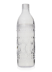 Al Hoora Ruby Glass Water Bottle, Clear