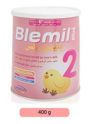 Blemil Plus Stage 2 Follow Up Milk Formula, 400g