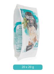 Nescafe 3-in-1 Coconut Ice Instant Coffee Mix Sachet, 20 Sachets x 20g