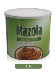 Mazola Butter Flavor Vegetable Ghee, 2 Liters