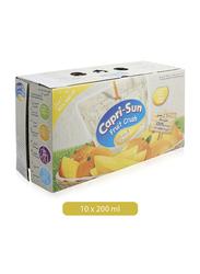 Capri Sun Fruit Crush Mango Juice Drink, 10 x 200ml