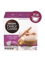 Nescafe Dolce Gusto Chai Tea Latte Coffee, 16 Capsules, 159.2g