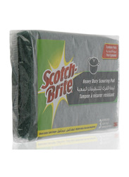 Scotch Brite Heavy Duty Scouring Pad, 3 Pieces