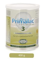 Primalac Premium 3 Growing-Up Iron Fortified Formula Milk, 400g