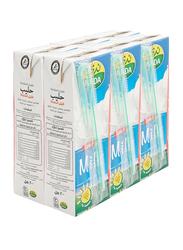 Nada Low Fat Long Life Milk, 6 x 200ml