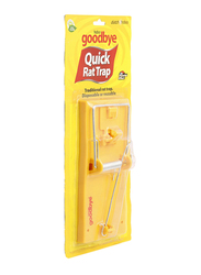 Goodbye Quick Rat Trap Suitable for Rodents, 1 Piece, Yellow