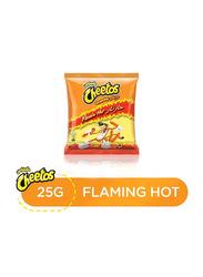 Cheetos Crunchy Flaming Hot Snacks, 25g