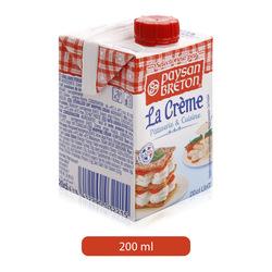 Paysan Breton Cooking Cream, 200 ml
