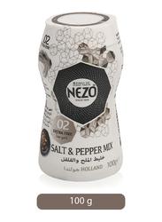 Nezo Salt & Pepper Mix Seasonings Condiments, 100g