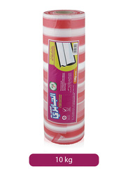 Al Jabri Biodegradable Plastic Table Cover, 10 Kg, Red/White
