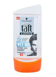 Taft Looks Wet Effect Extra Hold Hair Gel for All Hair Types, 150ml