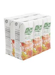 Al Rabie Multi Fruits Juice, 6 x 120ml