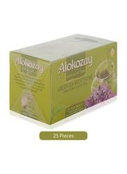 Alokozay Green Tea with Thyme Tea, 25 Tea Bags x 2g
